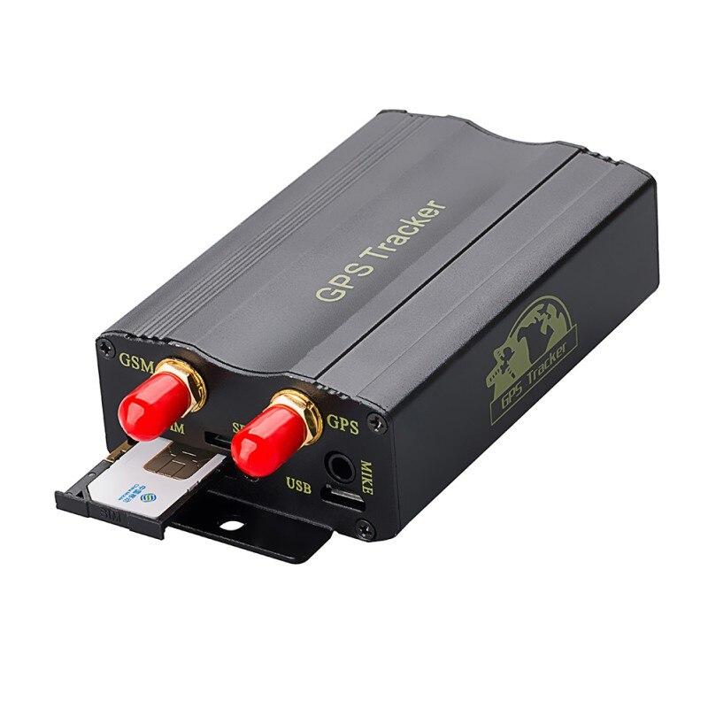 2018 автомобилей gps трекер tk103a TK103 gps 103A GSM/GPRS отслеживания трекер реального времени двери датчик удара ACC сигнал тревоги