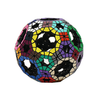 Magic Ball Puzzle Brain Teaser Toy Educational Game Cube Brinquedos Plastic Polymorph Cubos Magicos Intelligence Toys 60D0806