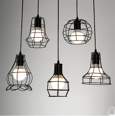American retro industrial wind creative lighthouse restaurant simple bar bird cage loft single head iron pendant light TA10111 talent designer loft retro bar restaurant bar iron warehouse european simple industrial control creative pendant light