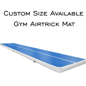 Livraison gratuite 5 m gonflable pas cher gymnastique matelas Gym dégringolade Airtrack plancher Tumbling Air piste à vendre