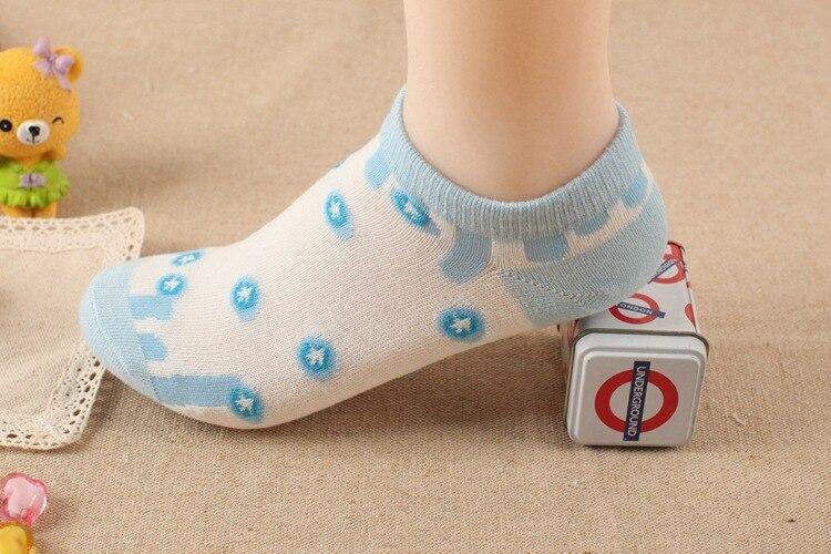 Звезда женского небольшой свежий хлопок носки Мелкой mouthboat носки Девушка хлопчатобумажные носки
