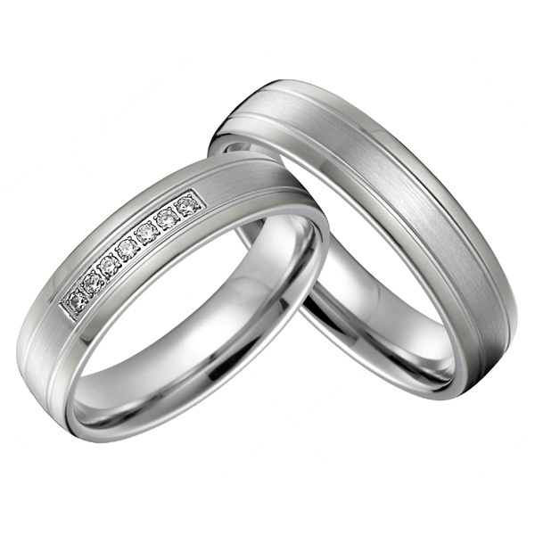best anniversary gift silver silver color titanium jewelry western ...