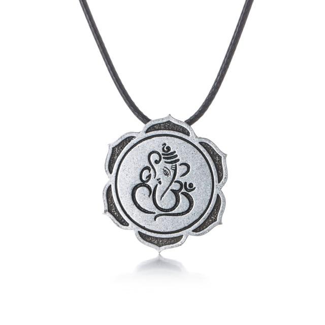 Online shop lord ganesha necklace most beloved god indian ganesh lord ganesha necklace most beloved god indian ganesh pendant necklaces pendants gift for women antique silver aloadofball Gallery