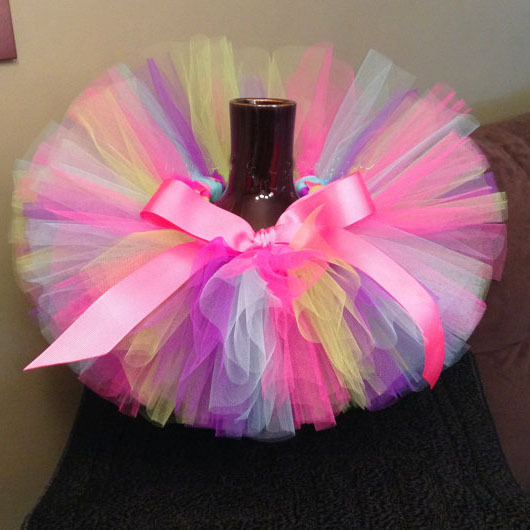 cd726e2a01fd Multicolor Baby Girls Tutu Skirts Infant 100% Handmade Fluffy Ballet ...