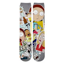 Rick and Morty 3D Socks (8 colors)