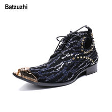 Batzuzhi ручной работы в итальянском стиле; Мужская обувь с