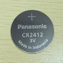 Panasonic CR2412 CR 2412 3V Lithium Coin Battery watch Key Fobs Batteries For swatch watch For LEXUS Car Controller недорого