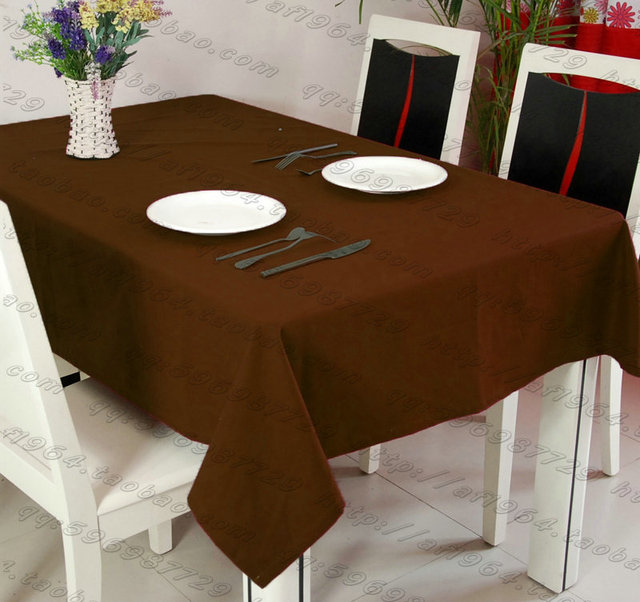 Square Table Cover,rectangle Table Cloth,plain Polyester,for Wedding,hotel  And