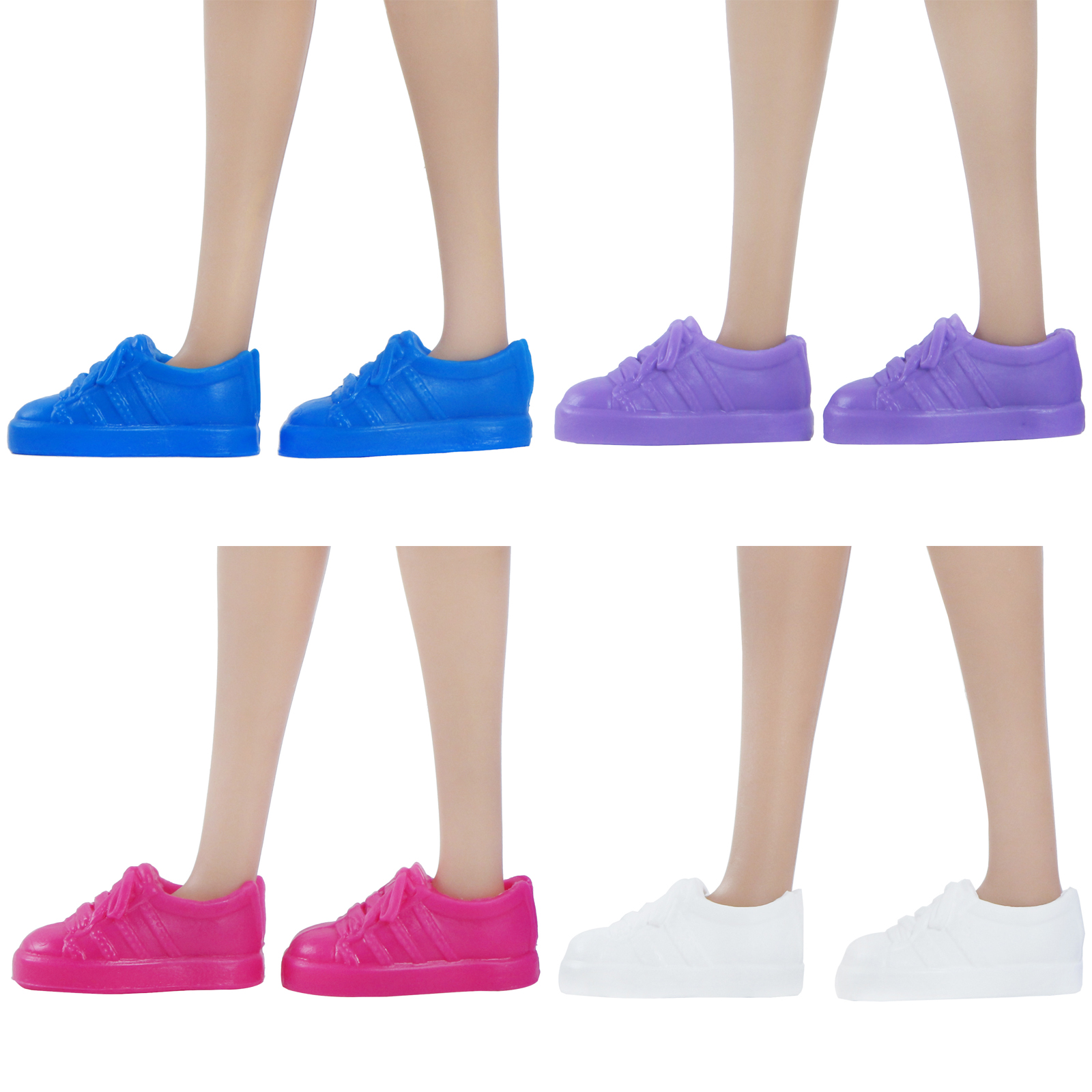High Quality Flat Shoe Colourful Sandals Platform Shoes Dress Up Daily Casual Sneakers DIY Accessories For Barbie Doll DIY Toy