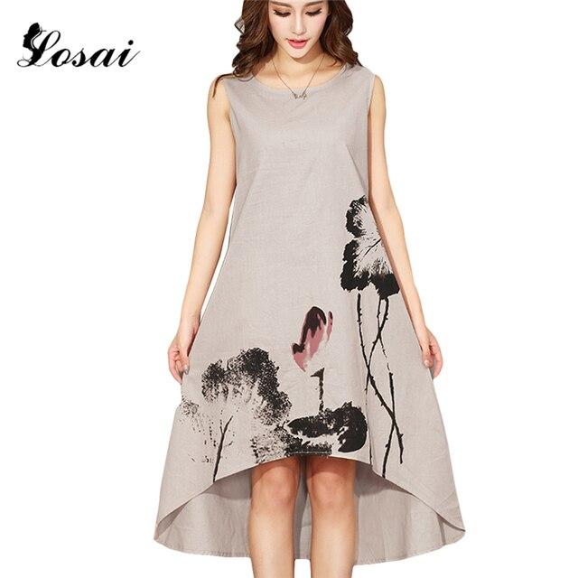 Summer dresses 2018 with linen
