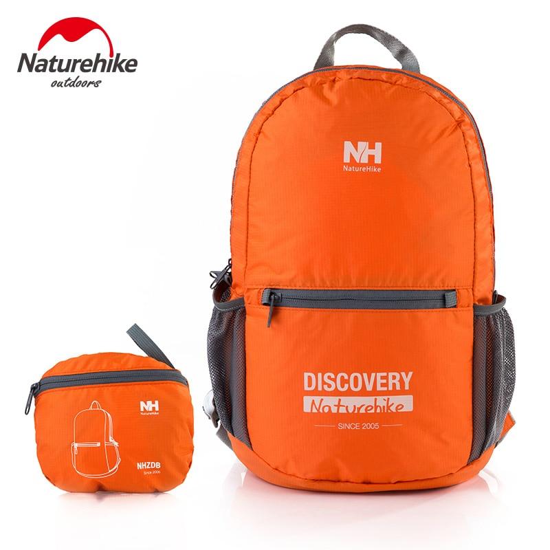 Prix pour Naturehike 15l pliage scc05 durable sac à dos vélo camping voyage sac d'ordinateur portable hommes femmes backapacks poche taille paquet