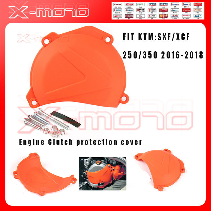 Motorcycle Clutch protection cover for SXF/XCF/250/350 16 18 2016 2017 2018 Free shipping|  - title=