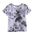 Pettigirl muchachos del niño de verano de manga corta camiseta con estampado de flores de la ropa del muchacho de los niños nuevos niños ropa bt90311-002l