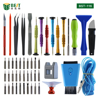 50 in 1 Mobile Phone Repair Tools Kit Spudger Pry Opening Tool Screwdriver Set for iPhone iPad Samsung Cell Phone Hand Tools Set