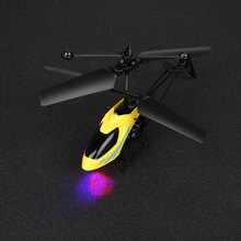 Mini RC Helicopter Radio Control Electric Heli Copter Aircraft Toys Gift