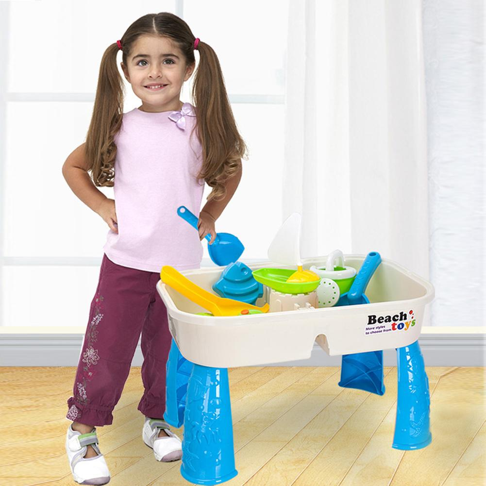 Children Sand Table Toy Summer Sand Water Play Toys Suit Color Random Large Baby Water And Sand Dredging Tool Kids Gift