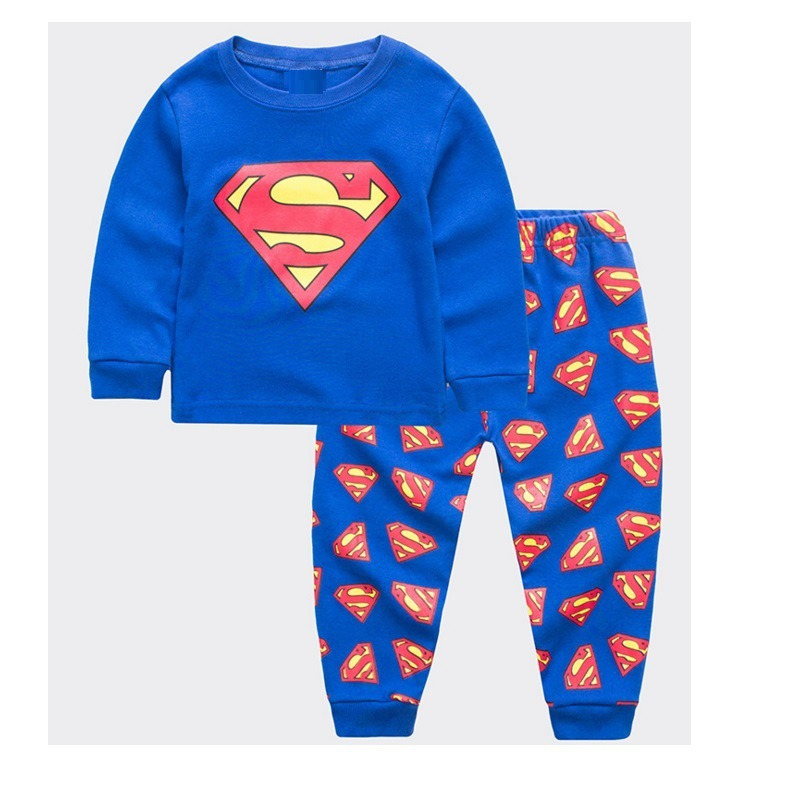 25888413a1 Detail Feedback Questions about Supermam Pajamas Set Kid Sleepwear ...