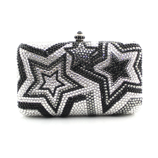 Fashion personality cute mini star pattern evening bag clutch diamond chain flap shoulder bag handbag messenger bag(1003-BS) personality fashion laser cute star shape casual party clutch bag ladies shoulder bag handbag crossbody messenger bag purse flap