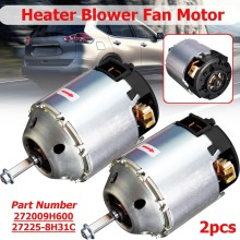 Right Hand And Left Hand Driver Side Climate Car Heater Blower Fan Motor For Nissan X-Trail Maxima Navara 272258H31C 272009H600(China)