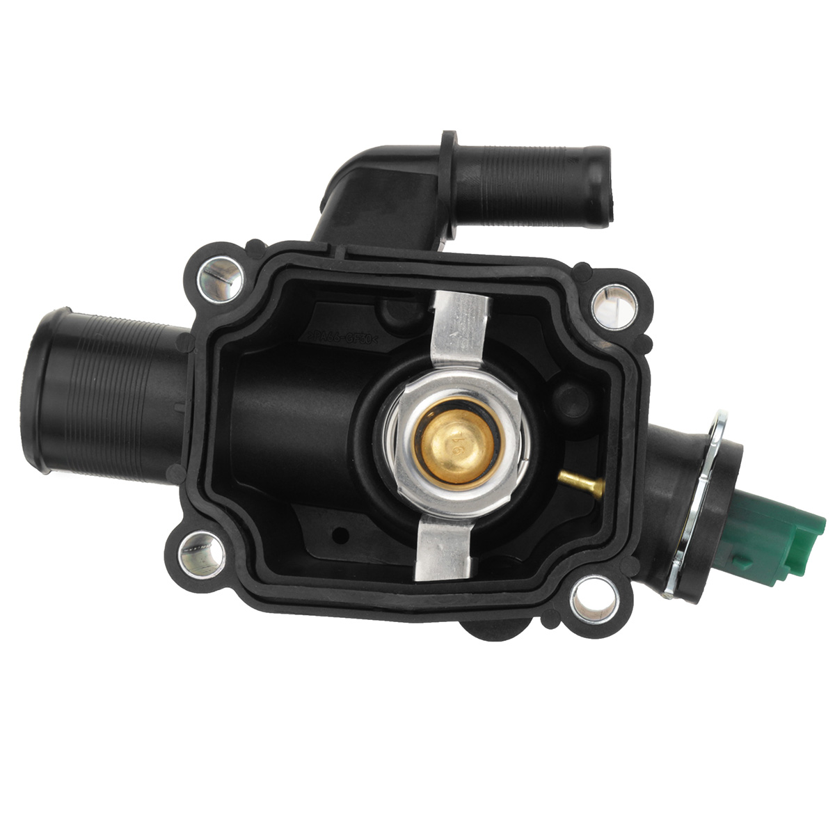 Engine Coolant Thermostat with Housing For Peugeot Partner 1007 206 207 307  308 For Citroen Berlingo C Elysee C2 C3 C4 Xsara-in Thermostats & Parts  from ...