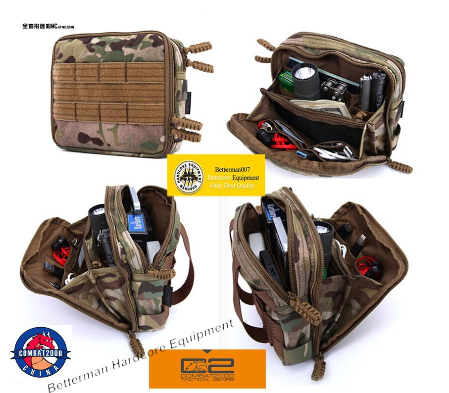Genuine Combat2000 Survivor Cordura Waterproof Nylon Edc Molle Waist Bag Pack Pouch Tools Utility Gear Pouches Belt Waistpack In Packs From Luggage