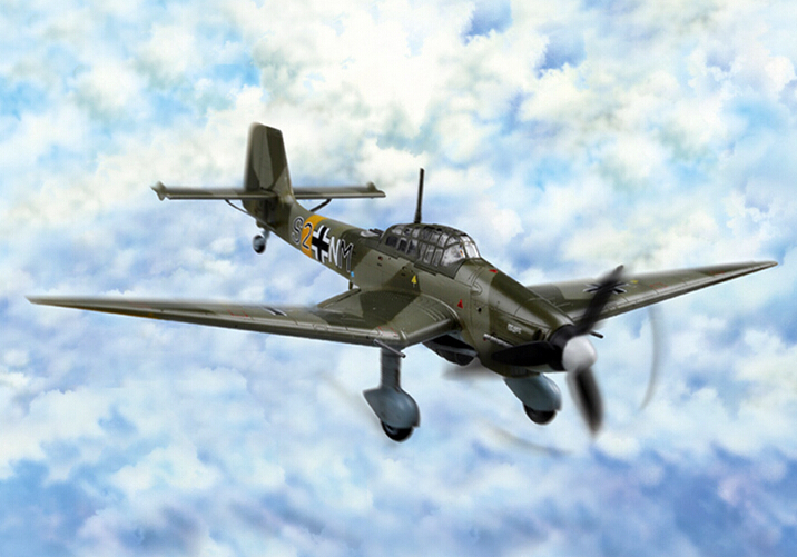 Hobby Boss 80286 1/72 Junkers Ju 87D-3 Stuka Plastit Model Kit