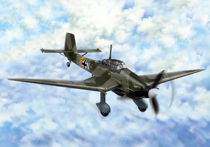 Hobby Boss 80286 1/72 Junkers Ju 87D-3 Stuka Plastit Model Kit