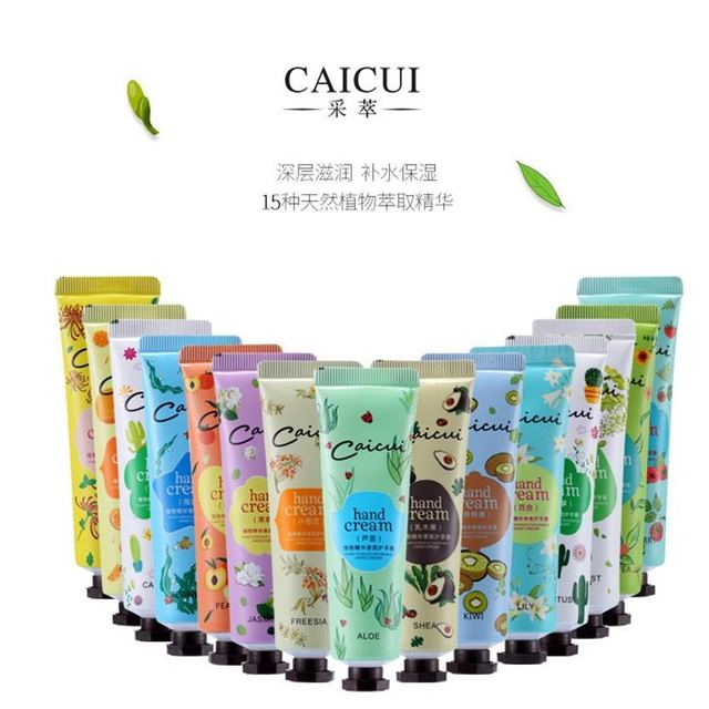 Crema de Manos Mini lindas lociones de mano nutritiva Anti-envejecimiento manos cuidado de pies Crema para hombres mujer blanqueamiento hidratante