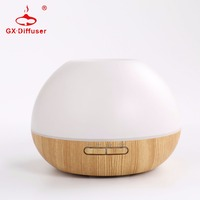 GX Diffuser Ultrasonic Air Humidifier Essential Oil Aroma Diffuser Aromatherapy 7 Color Change Portable Humidifier Home