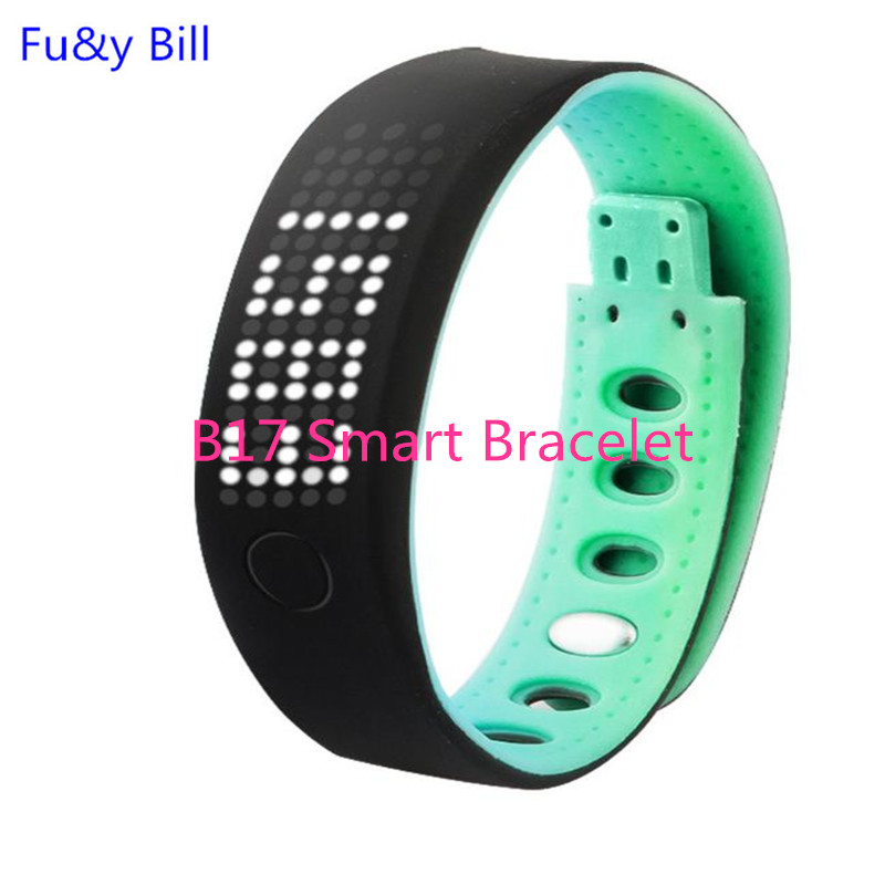 New fashion B17 Bluetooth smart health monitoring bracelet pedometer SPORTS BRACELET