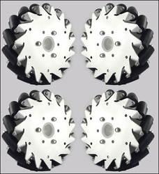 6 дюймов 152 мм Универсальное колесо 4 14165 колесо Mecanum 152 мм всенаправленное колесо