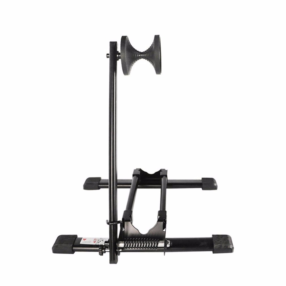 New WHEEL UP Foldable Aluminum Alloy Bike Parking Rack Adjustable Mountain Bike Cycling Front Rear Kick Stand Rack drop shipping rockbros bicycle foldable racks bike repair stand rack aluminum alloy mtb mountain rode cycling parking holder storage stand