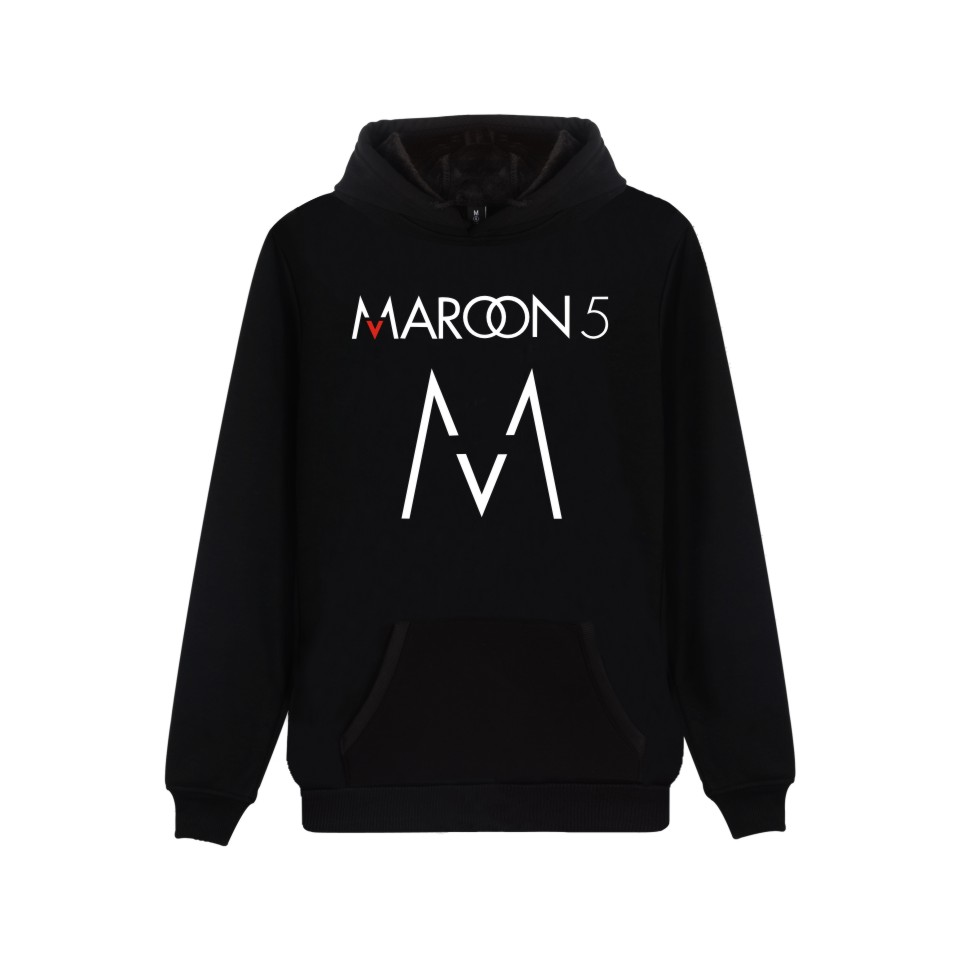 LUCKYFRIDAYF Rock Band Maroon 5 Hoodie Sweatshirt Couple Unisex Fashion Winter High Quality Cotton Pullover For Maroon5 Lover