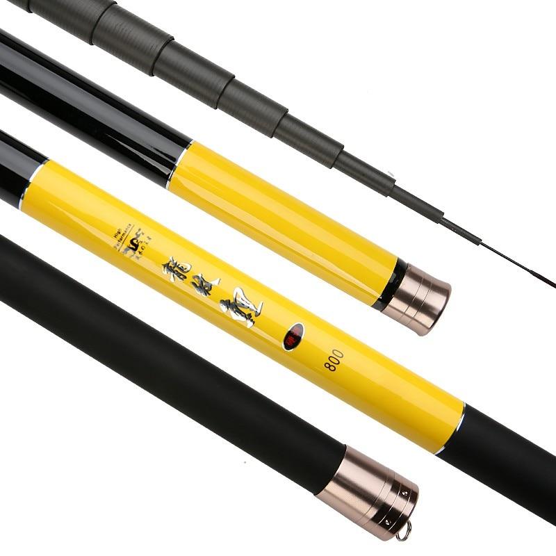Hand-Pole Telescopic Carp-Fishing-Rod Carbon-Fiber Taiwan High-Quality 10m 9m 13m 8m