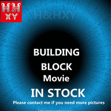 H&HXY IN STOCK06057 06066 06083 16007 16004 16005 16006 16008 16009 16012 16050 16060 45014 22001 16010Movie Building Block Toys(China)
