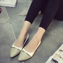 Free transport spring/autumn informal girls's flat heel single footwear shallow mouth footwear lazy pointed toe footwear