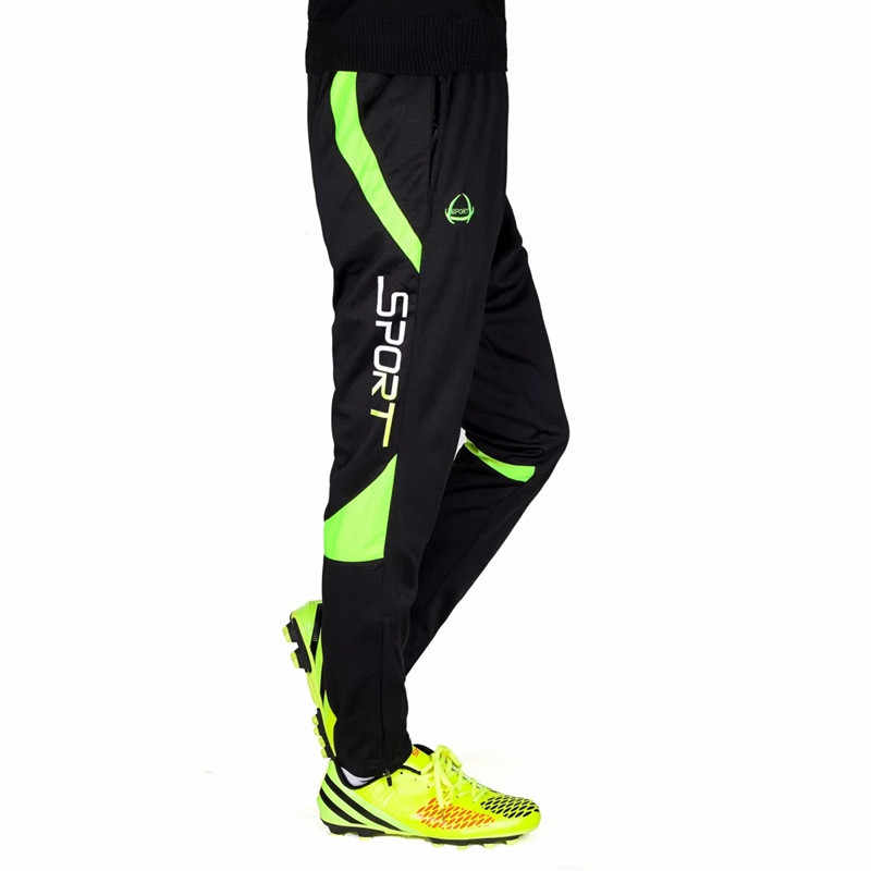 22575bad9fe80f ... Kids Boys Running Pants Football Soccer Training Pant Child Active  Jogging Trousers Sports Leggings Track GYM