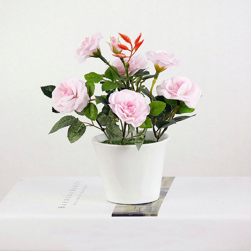 1PC ხელოვნური ყვავილები Bonsai - დღესასწაულები და წვეულება - ფოტო 4