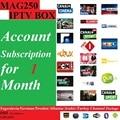 O envio gratuito de 1 Mês Mag250/Mag245 IPTV subscrição de software com a Jugoslávia/Alemão/Suécia/Albânia/Árabe/400 + canais de peru