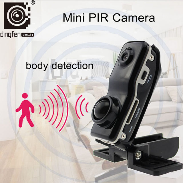 Df90 Mini Smallest Camera Hd Pir Sensor Micro Digital Camcorder Home Security Baby Monitor Small Nanny