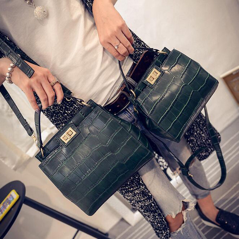 New fashion alligator women leather bags handbags luxury famous brand designer crossbody big/small cat bags bolsas femininas sac fashion casual michael handbag luxury louis women messenger bag famous brand designer leather crossbody classic bolsas femininas