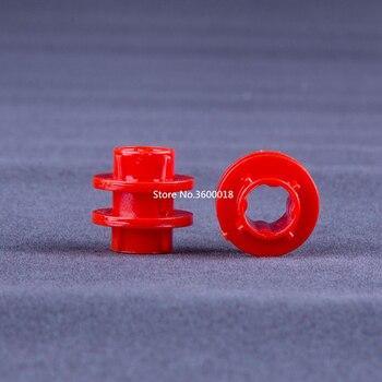 10 unids/lote Decool, piezas técnicas, anillo de transmisión de potencia Compatible con 6539 MOC, Juego de piezas de bloques DIY