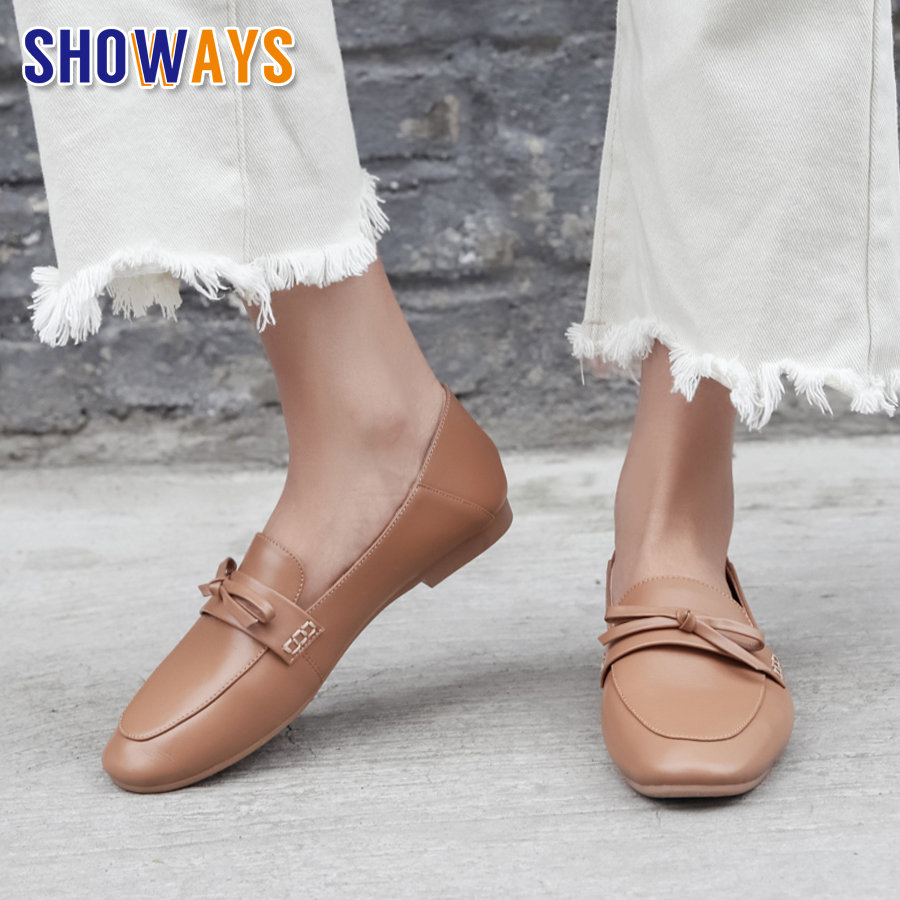 British Bowtie Women Loafers Black Beige Grey Soft Microfiber Round Toe Moccasins Casual Office Dress Driving Slip-on Lady Flats