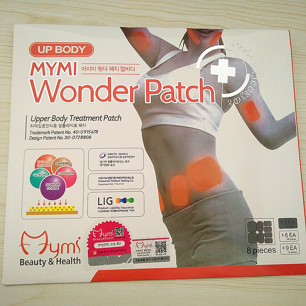9pieces=3bags=1lot The Third Generation Slim Patch Women Weight Loss Slimming Stick Burning Fat Patch Health Care