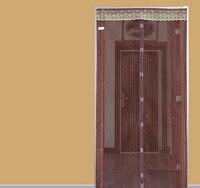 מסך חינם מעופף חרקים דלת מגנטי וילון כילה נגד יתושים צבע חום, גודל הבדל, גודל גדול עבור דלת מיוחדת
