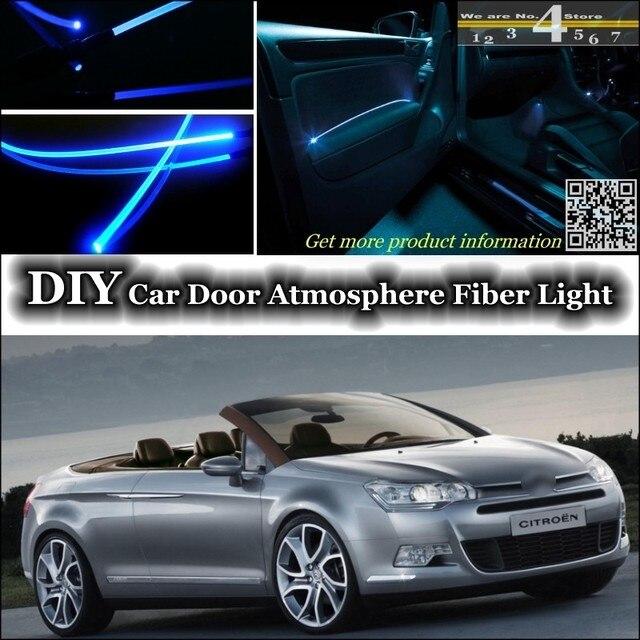 For Citroen C5 interior Ambient Light Tuning Atmosphere Fiber Optic ...
