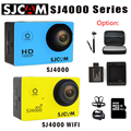 Original SJ4000 SJCAM SJ4000 wifi Action Camera Diving 30 M 1080 P Full HD à prova d' água Underwater Sports DV Cam + opção de Monopé