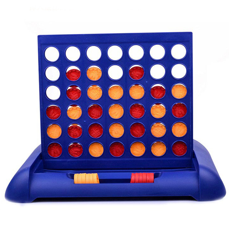 Travel Connect 4 Puzzle Board Game Children's Educational Board Game Toys For Kid Child