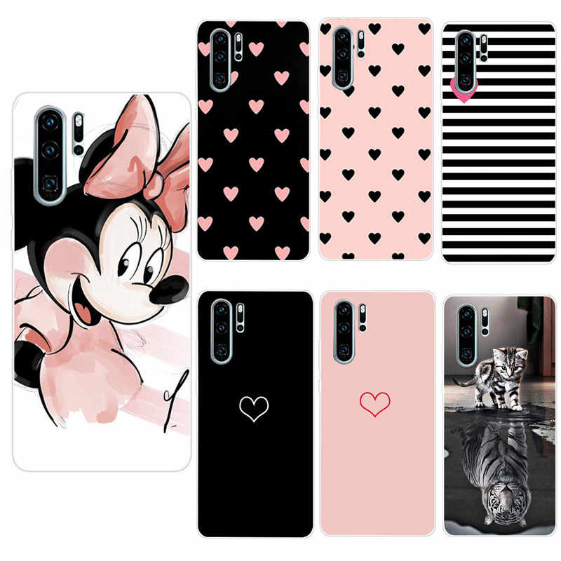 Soft Silicone Case For Huawei P30 Pro Cases 6.2 inch Transparent Silicon Phone Case Shell For Huawei P30pro P30 Lite Covers Bags