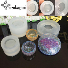 1pcs UV Resin 3D Bowl Dish Silicone Mold Resin Mold DIY Simulation Bowl Jewelry Manufacturing Process Resin Mold For Jewelry